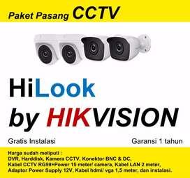 CCTV Hilook by HIKVISION, Paket Komplit, Gratis Instalasi !
