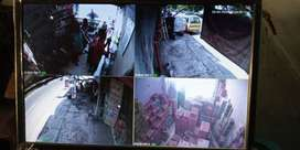 #Awasi lingkungan dgn cara praktis, Paket CCTV 2Mp siap membantu anda