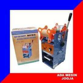 Mesin Cup Sealer Matrix MTX D8 Alat Press Penutup Plastik Gelas