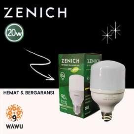 Lampu LED ZENICH 20 Watt GARANSI 1 Tahun (bisa COD)