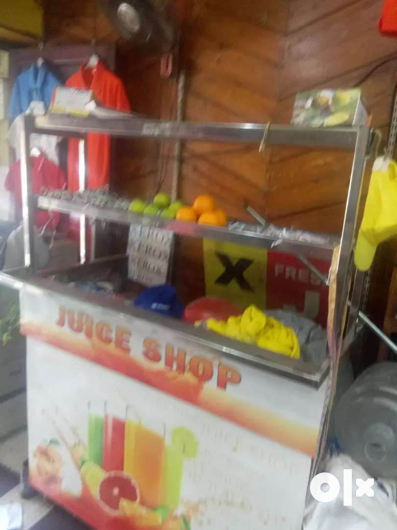 Juice stand stailes steel 0