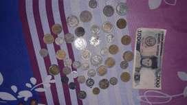 Uang Koin dan Uang Kertas Jadul