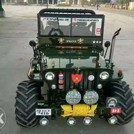 Mahindra Willy modify Jeep Punjab Moga City