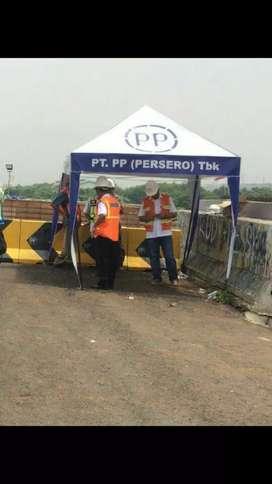 Tenda proyek murah 2x2 m