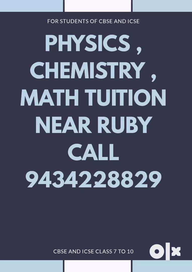 Physics Chemistry Math tuition 0