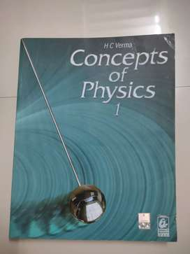 HC Verma Concepts of physics volume 1 and 2 con