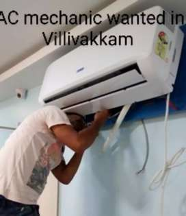Wanted exp. AC mechanic wanted 500/day