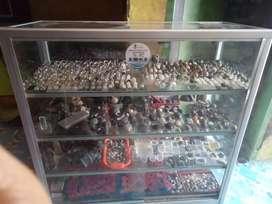 Etalase display bekas