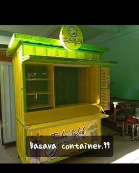 Booth container/container minuman/booth nyoklat/booth thai tea/booth