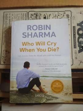Robin Sharma - who will cry when you die
