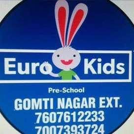 Admission Counsellor & Teachers for @ EuroKids Gomti Nagar Extension