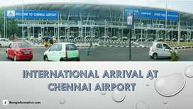 Direct joining Air India, airport stuff, ticketing, ground staff.