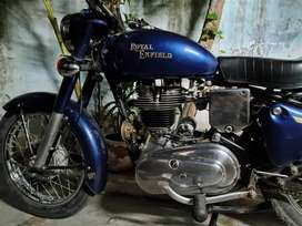 Royal Enfield 1972 with old number