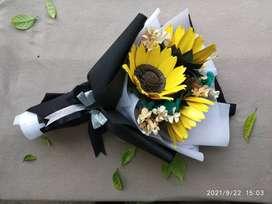 Buket bunga wisuda