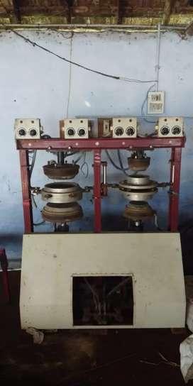 Pakku mattai plates making mechine (areca nut plate making mechine)