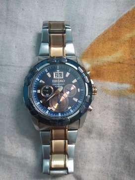 Seiko Watch model chronograph 100M