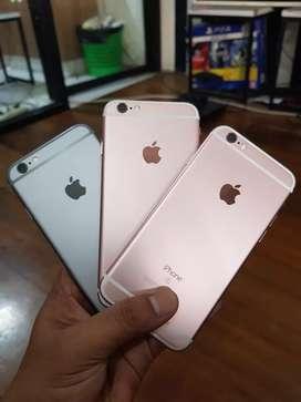 iPhone 6s 64gb rosegold & grey