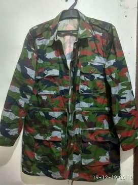 Jaket Armi loreng Bangladesh ukuran l