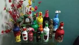 Bottle Art desighing