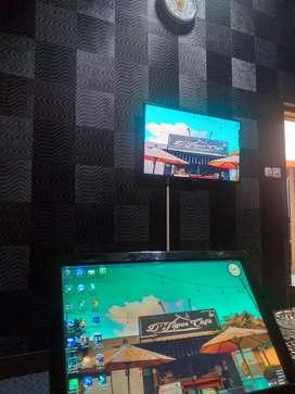 Komputer / pc untuk mesin / player karaoke / karoke suport toucscreen