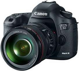 Canon 5D mark 3 for rent