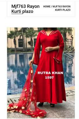 Rutba Khan Dress