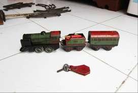 """Kereta Api Vintage Tin Toys Meccano""""s Trains Serie Hornby Paris"""