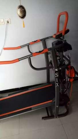 Treadmill manual 7 F orange