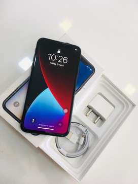 IPHONE X-64GB WITHOUT USED WITH WARRANTY€€