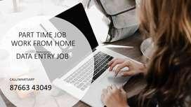 PART TIME JOB/HANDWRITING JOB-DATA ENTRY JOB