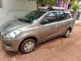 Datsun go plus single owner fresh car with 4 new tyres, cash urgency