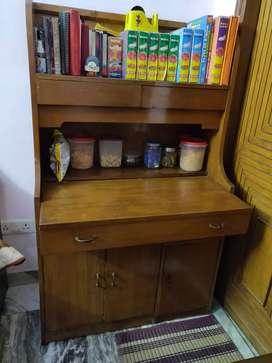 Wood study table