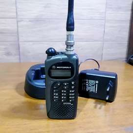 HT motorola gp2000 VHF siap pakai batrei baru
