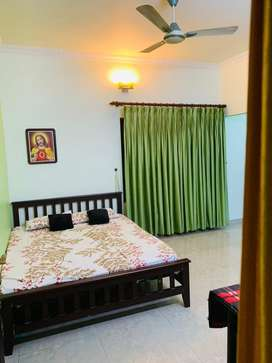 Thripunithura near snvp school 2bhk upstair for rent new 12000