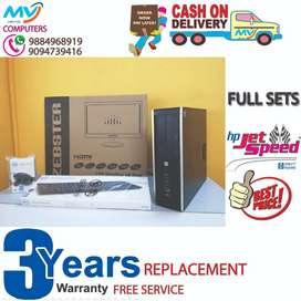 2GB-GRAPHIC-RAM-4GB-3 YEAR WARRANTY-LOWEST PRICE FULL SET/computer/dvd