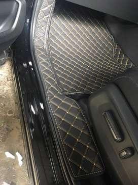 karpet lantai mobil kostum for Honda CRV 2007-2020 full bagasi
