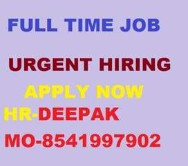 Full time job Store Keeper Helper Supervisor Urgent hiring  Age - 18 t