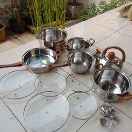 set panci 12 pcs / set panci / combination pot 12