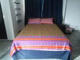 F-8/1BED1BATHKITCHENTE semi furnished available