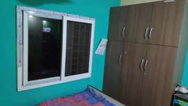 A single fully furnished room available for rent.