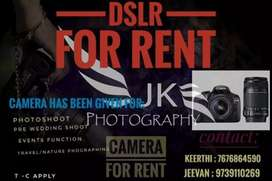 Canon camera for rent