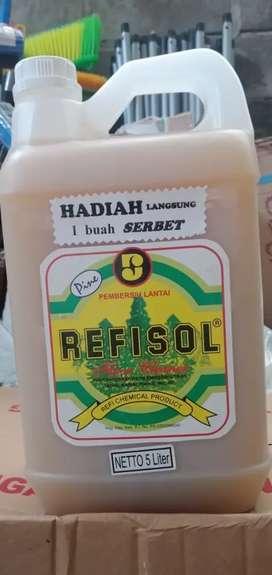 Desinfektan Refisol pembasmi virus bakteri dan kuman