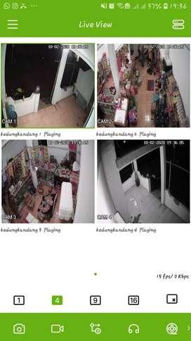 Kamera cctv kualitas HD gambar dijamin jernih