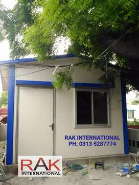 Security Guard Cabin- Container Office- Prefab Home- Toilet/washroom.
