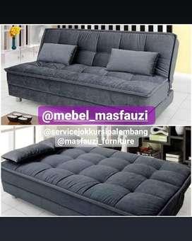Costum sofa minimalis dan springbed