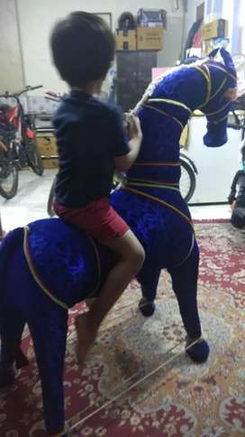 Big horse for kids playing just for 1500 Rs.