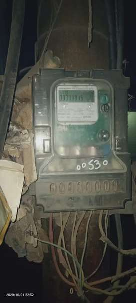 3 Phase Electricity Meter & connection