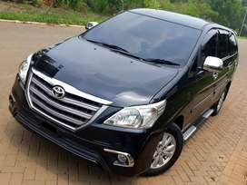 Kijang Innova E 2.0 M/T 2014 (Upgrade G) hitam pajak aktif 1 th
