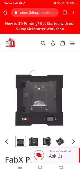 Fabx pro 3d printer