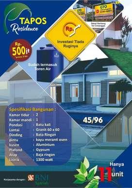Tapos Residence Rumah Dekat Tol Cimanggis dan Cijago